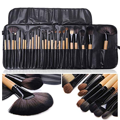 Lot de 24 pinceaux de maquillage professionnels