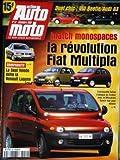 ACTION AUTO MOTO [No 52] du 01/12/1998 - DUEL CHIC : VW BEETLE - AUDI A3. MATCH...