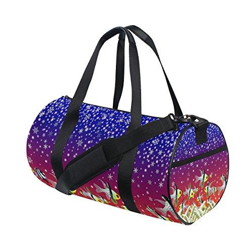Ahomy Sea Fish - Bolsa de Viaje para Gimnasio (Lona), diseño de...