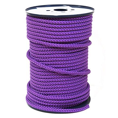 FTM® Springseil Tau Seil PP Lila Violett Meterware Rollenware Ø 9mm Fitnessseil 5m