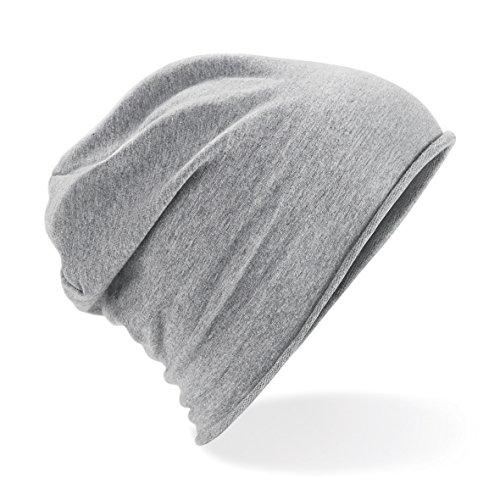 CHEMAGLIETTE! Cappellino Leggero Cuffia Oversize Elasticizzata Cotone Morbido Beechfield B361