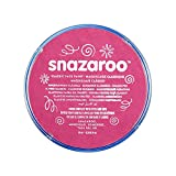 Snazaroo- Pintura facial y Corporal, 18 ml, Color rosa fucsia, 18ml (Colart 18599)