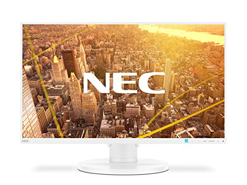 NEC MultiSync E271N LED Display 68,6 cm (27 Zoll) Full HD Flach Weiß - Computerbildschirme (68,6 cm (27 Zoll), 1920 x 1080 Pixel, Full HD, LED, 6 ms, Weiß)