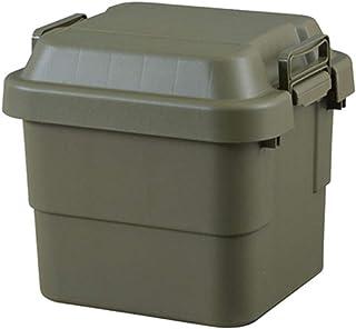 トランクカーゴ 30L 収納ケース 収納ボックス オリーブ グリーン ミリタリー調 シンプル フタ付き 蓋付き