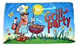 Flagge / Fahne Grillfahne Grill Party 60 x 90 cm