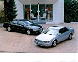 1998 Cadillac Seville STS/SLS - Vintage Press Photo