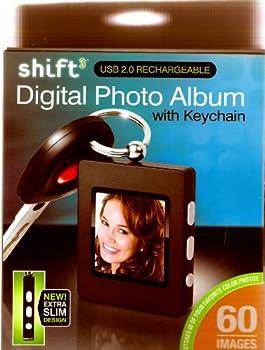 Shift Digital Photo ALbum with Keychain