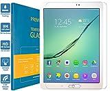 PREMYO Pellicola Vetro Temperato Compatibile con Samsung Galaxy Tab S2 9.7 Protezione Schermo Durezza 9H Bordi 2,5D Anti-Graffi Bolle Impronte