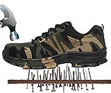axcer unisex hombre zapatillas de seguridad con puntera de acero antideslizante transpirable s3 zapatos de trabajo comodas calzado de trabajo deportivos botas de protección industria construcción