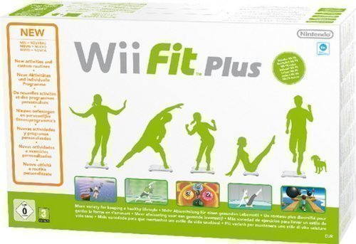 Wii - Fit Plus inkl. Balance Board