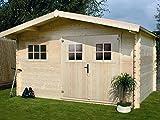 Habitat et Jardin - Abri Jardin Bois - 19,72 m² - 4.64 x 4.25 x 2,32 m - 28 mm