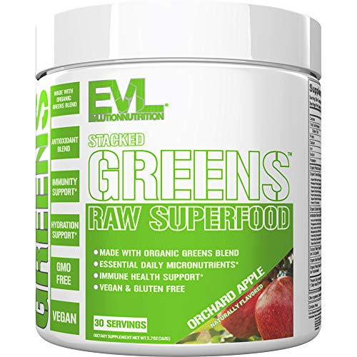 Evlution Nutrition Stacked Greens R…