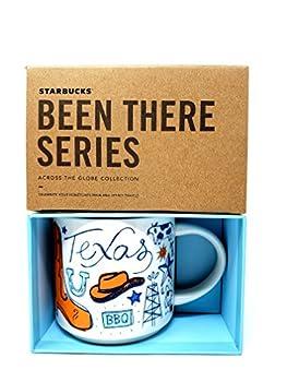 Starbucks Texas Coffee Mug Been There Series Across The Globe Collection