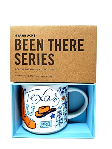 Starbucks Texas Coffee Mug, Been There Series Across The Globe Collection