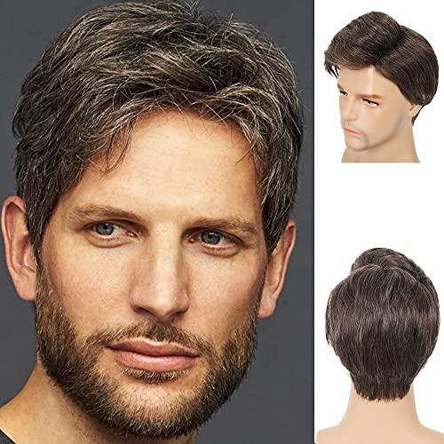 adquirir pelucas de pelo rizado hombre en internet