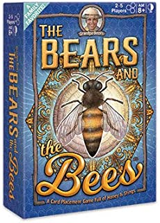 Grandpa Beck?s The Bears and The Bees Card Game | A Fun & Strategic Tile-Placement Card Game | Enjoyed by Kids, Teens, & A...