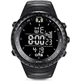 Men's Digital Sports Wrist Watch LED Screen...