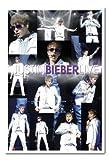Justin Bieber Live Poster Magnetische Pinnwand Weiß