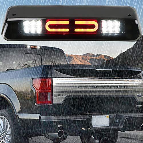 LED 3rd Brake Light for 2004-2008 Ford F-150, 2007-2010 Ford Explorer Sport Trac, 2006-2008 Lincoln Mark LT Rear Tail Brake Light Cargo Lamp