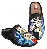 Zapatillas cómodas Andar por casa inspiradas en Mortadelo y Filemón (44)