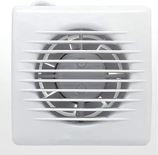 Cuarto de baño Pequeño Extractor Ventilador Partición Pared Ventana Ventilación Potente Campana de Aire silencioso 110 mm