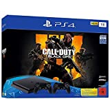 PlayStation 4 - Konsole (1TB, schwarz, slim) inkl. Call of Duty: Black Ops 4 + 2 DualShock...