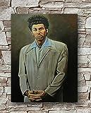 Huawuque Seinfeld The Kramer Poster Standardgröße | 45,7