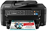 Epson WF-2750 All-in-One Wireless Color Printer with Scanner, Copier & Fax, Amazon Dash Replenishment Ready