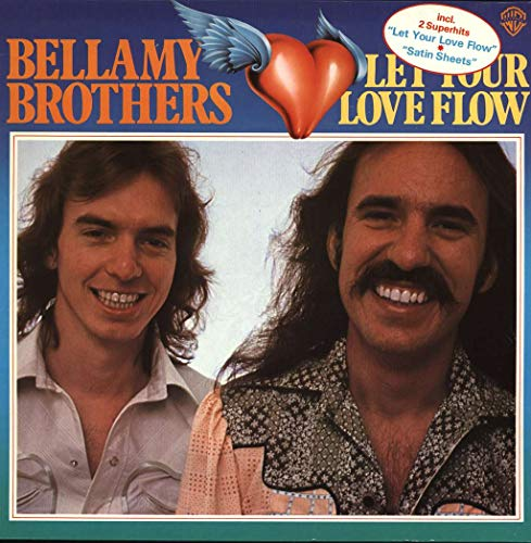 Bellamy Brothers - Let Your Love Flow - Warner Bros. Records - WB 56 242, Curb Records - BS 2941