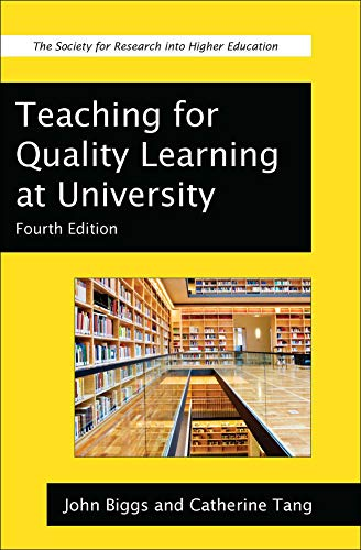Teaching For Quality Learning At University (Society for Research into Higher Education) download ebooks PDF Books