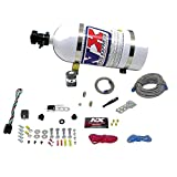 Nitrous Express 21000-15 35-150 HP Dry EFI Single Nozzle System with 15 lbs. Bottle