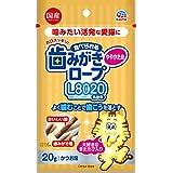 アース 猫用おやつ 食べられる歯みがきロープ L8020 かつお味 愛猫用 20g