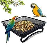 Cuenco para Comida, Comederos para aves, Cuenco para Comida para pájaros, Comedero pájaros, Comedero para pájaros Silvestres, Comedero para alimentación, Comederos de alimentación para pájaros (A)