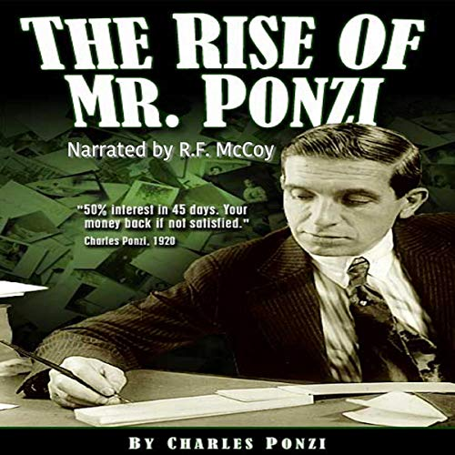 The Rise of Mr. Ponzi cover art