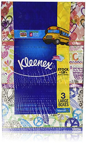 Kleenex Tissues 2-Ply 210ct Pack of 3