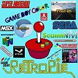 ArcadeSystems 64GB Retropie per micro SD card per Raspberry Pi B e B +