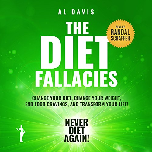 The Diet Fallacies audiobook cover art