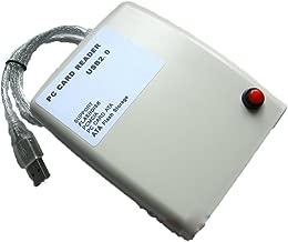 USB2.0 Interface PCMCIA Card Reader , Read FLASH /DISK card /ATA card