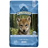 Blue Buffalo Wilderness High Protein Grain Free Natural Puppy Dry Dog Food, Chicken 24-Lb