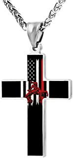 Best wrestling cross necklace Reviews