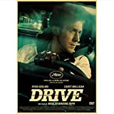 Newgeli Ryan Gosling Classic Movie Drive Poster Vintage