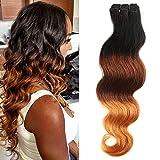 My-Lady Tissage Bresilien Meches Bresiliennes Cheveux Naturel Dégradé - Extensions...