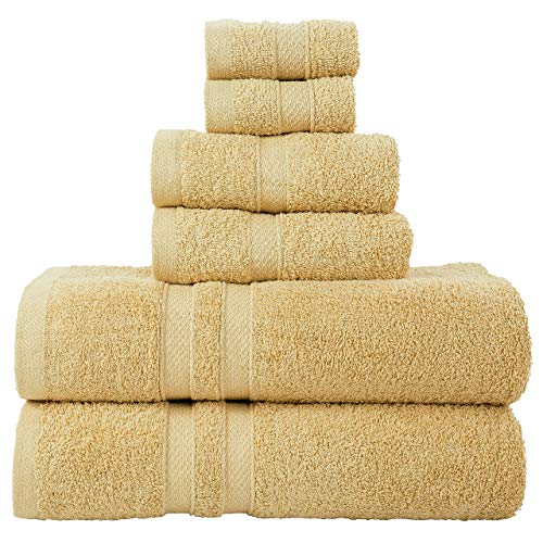 Juego de toallas marca BellaCasa