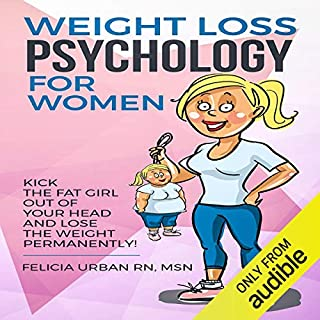 Weight Loss Psychology for Women audiobook cover art