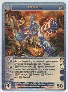 TC Digital Games IPARU Chaotic Premium Edition Season 1 Ultra Rare Gold Foil Card & Unused Code (Random Stats)