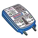 Optimate Chargeur de Batterie Automatique 3 x 2 Double Banque 12 V pour Moto