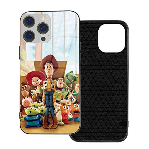 BINSNOW Carcasa Trasera de TPU para iPhone 12 Mini Toy Story