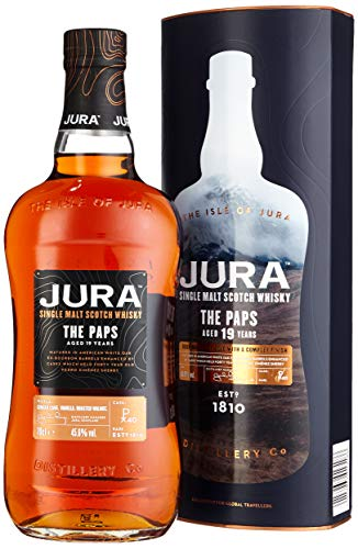 Jura The Paps 19 Years Old Single Malt Scotch Whisky mit Geschenkverpackung (1 x 0.7 l)