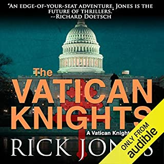Vatican Knights audiobook cover art