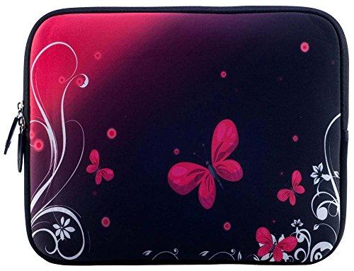 Ektor Ltd Bolsa con el diseño para 10 17,6 pulgadas portátil para Unisex Adulto 12 (230 x 300 mm) rojo